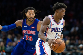 Detroit Pistons vs. Philadelphia 76ers - 10/26/19 NBA Pick, Odds, and Prediction