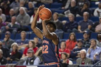 South Alabama vs. Auburn - 11/12/19 College Basketball Pick, Odds, and Prediction