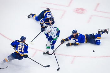 Vancouver Canucks at St. Louis Blues - 8/14/20 NHL Picks and Prediction