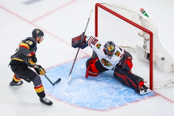 Vegas Golden Knights at Chicago Blackhawks - 8/15/20 NHL Picks and Prediction