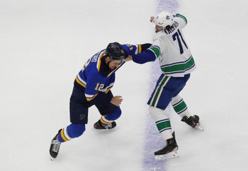 St. Louis Blues at Vancouver Canucks - 8/16/20 NHL Picks and Prediction