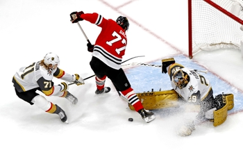 Vegas Golden Knights at Chicago Blackhawks - 8/16/20 NHL Picks and Prediction