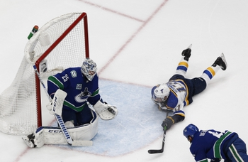 St. Louis Blues at Vancouver Canucks - 8/17/20 NHL Picks and Prediction