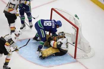 Vancouver Canucks at Vegas Golden Knights - 9/1/20 NHL Picks and Prediction