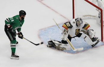 Dallas Stars at Vegas Golden Knights - 9/14/20 NHL Picks and Prediction