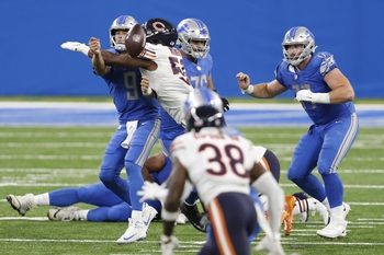 Detroit Lions at Chicago Bears 12/6/20 NFL Picks and Predictions