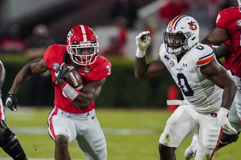 Mississippi State at Georgia: 11/21/20 College Football Picks and Prediction