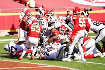 Kansas City Chiefs at Las Vegas Raiders 11/22/20 NFL Picks and Predictions