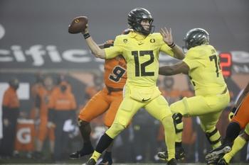 Canceled: Washington at Oregon: 12/12/20 College Football Picks and Prediction