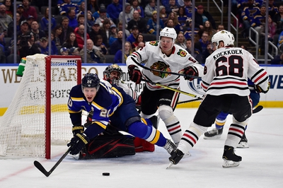 Chicago Blackhawks vs. St. Louis Blues - 3/8/20 NHL Pick, Odds, and Prediction