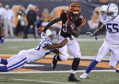 Cincinnati Bengals at Indianapolis Colts Sunday 10/18/20 NFL Picks & Predictions Week 6