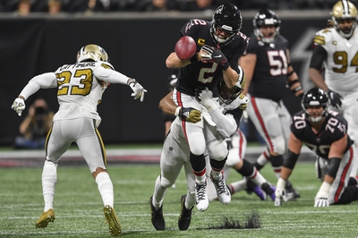 NFL NFC South: New Orleans Saints vs Atlanta Falcons 11/22/20 NFL Picks, Odds, Predictions