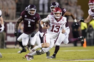 ATS Picks: Arkansas vs Tennessee 11/7/20 College Football Picks, Predictions