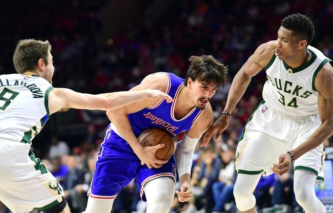 Philadelphia 76ers vs. Milwaukee Bucks - 1/20/18 NBA Pick, Odds, and Prediction