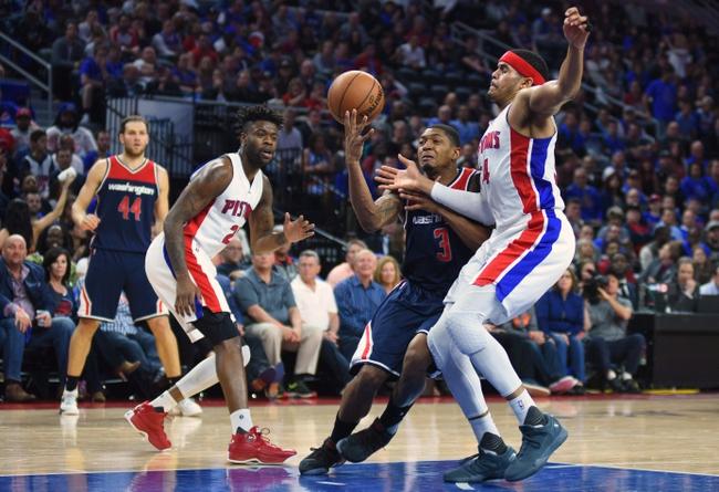 Washington Wizards vs. Detroit Pistons - 10/20/17 NBA Pick, Odds, and Prediction
