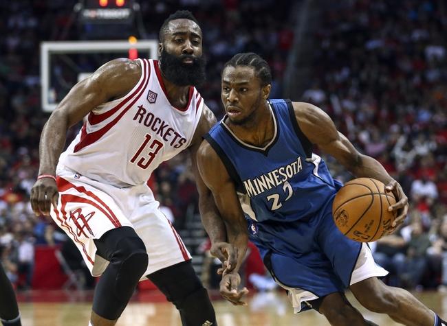 Houston Rockets vs. Minnesota Timberwolves - 1/18/18 NBA Pick, Odds, and Prediction