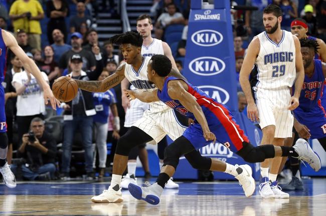 Detroit Pistons vs. Orlando Magic - 12/17/17 NBA Pick, Odds, and Prediction