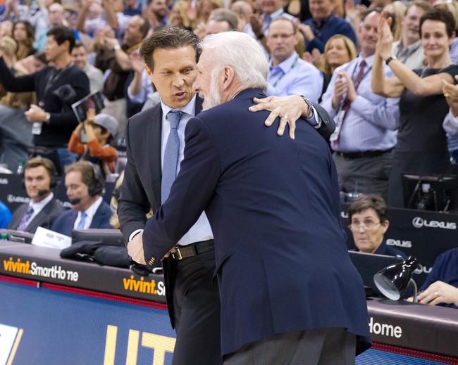Utah Jazz vs. San Antonio Spurs - 12/21/17 NBA Pick, Odds, and Prediction