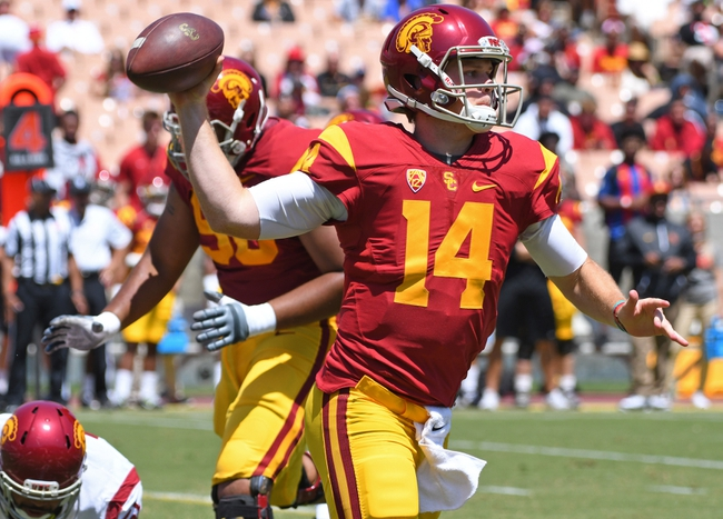 USC  vs. Western Michigan - 9/2/17 College Football Pick, Odds, and Prediction