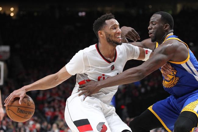 Golden State Warriors vs. Portland Trail Blazers - 12/11/17 NBA Pick, Odds, and Prediction