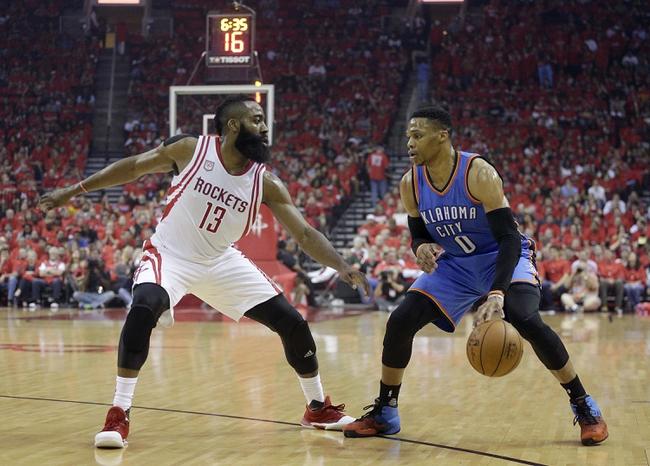 Oklahoma City Thunder vs. Houston Rockets - 12/25/17 NBA Pick, Odds, and Prediction