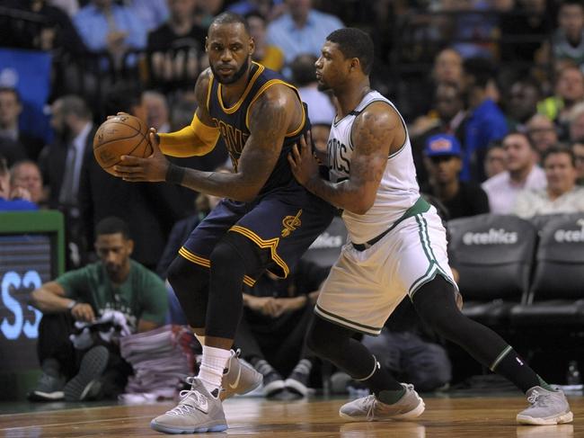 Boston Celtics vs. Cleveland Cavaliers - 5/19/17 NBA Pick, Odds, and Prediction