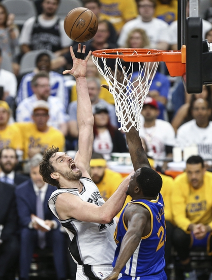 San Antonio Spurs vs. Golden State Warriors - 5/22/17 NBA Pick, Odds, and Prediction