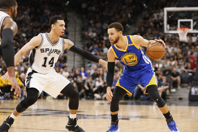 Golden State Warriors at San Antonio Spurs - 11/2/17 NBA Pick, Odds, and Prediction