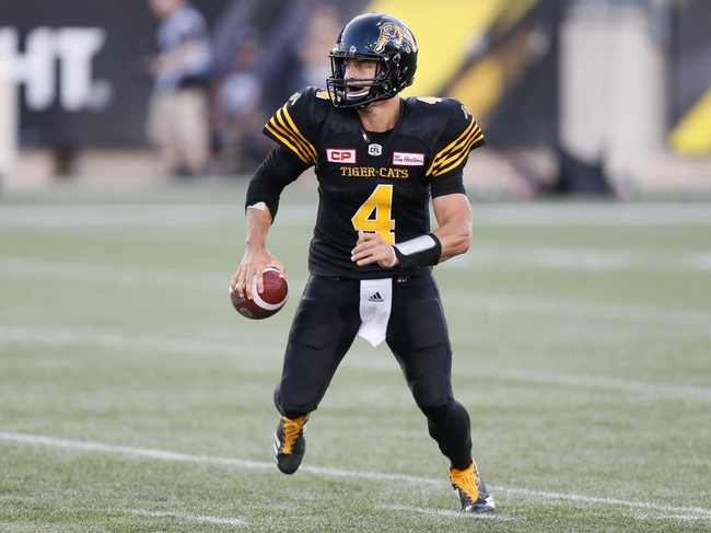 Winnipeg Blue Bombers vs. Hamilton Tiger-Cats CFL Pick, Odds, Prediction - 8/12/17