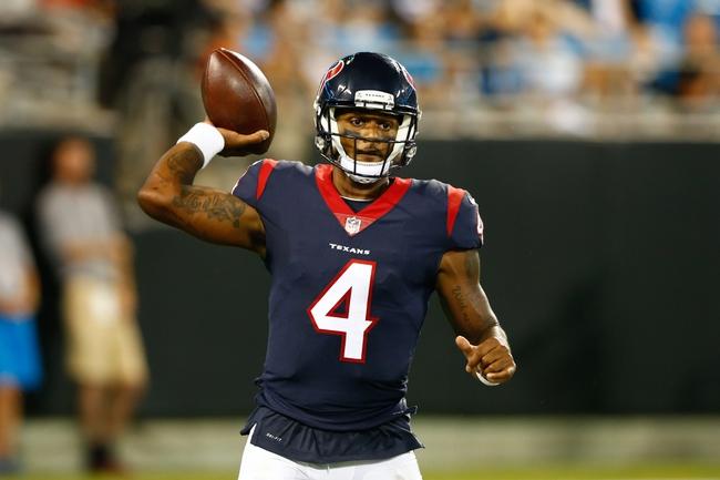 Houston Texans vs. New England Patriots - 8/19/17 NFL Pick, Odds, and Prediction