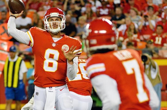 Cincinnati Bengals vs. Kansas City Chiefs - 8/19/17 NFL Pick, Odds, and Prediction