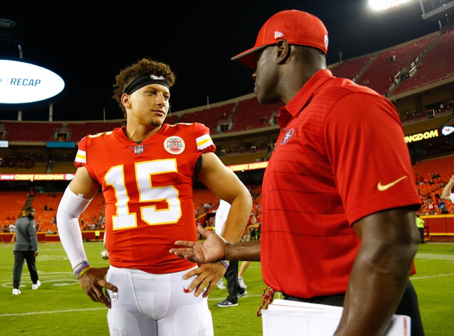 Kansas City Chiefs vs. Tennessee Titans - 8/31/17 NFL Pick, Odds, and Prediction