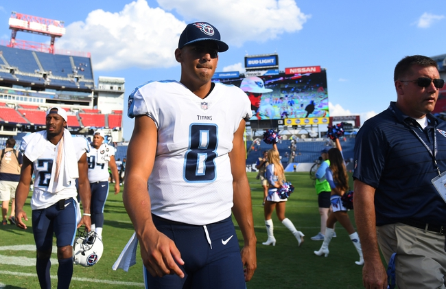 Tennessee Titans vs. Chicago Bears - 8/27/17 NFL Pick, Odds, and Prediction