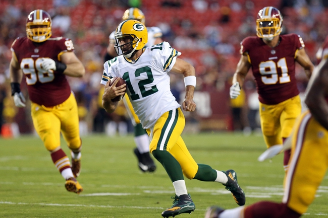 Green Bay Packers at Washington Redskins - 9/23/18 NFL Pick, Odds, and Prediction