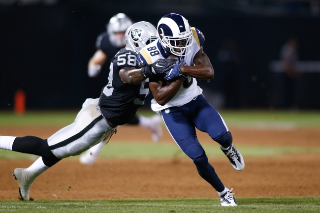 Los Angeles Rams vs. Oakland Raiders - 8/18/18 NFL Pick, Odds, and Prediction