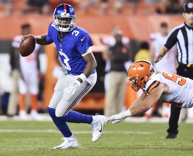 New York Giants vs. New York Jets - 8/26/17 NFL Pick, Odds, and Prediction