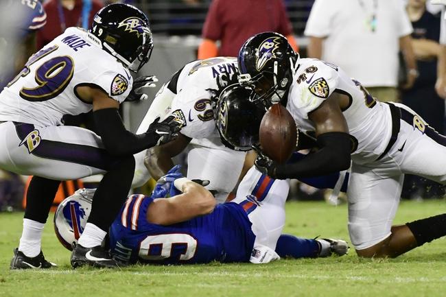 Buffalo Bills at Baltimore Ravens - 9/9/18 NFL Pick, Odds, and Prediction
