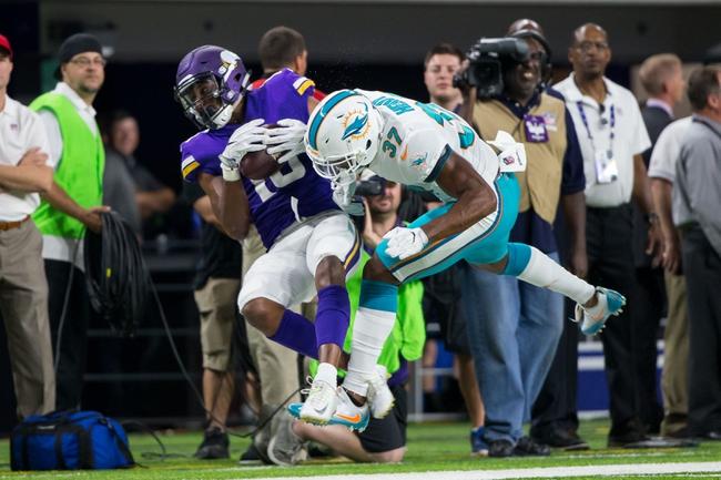 Minnesota Vikings vs. Miami Dolphins - 12/16/18 NFL Pick, Odds, and Prediction