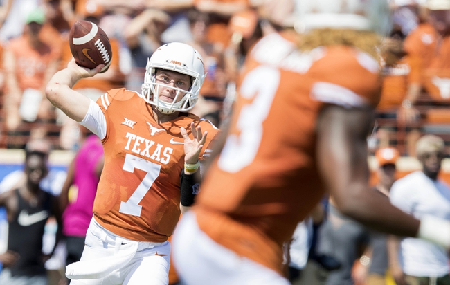 Texas vs. Kansas State - 10/7/17 College Football Pick, Odds, and Prediction