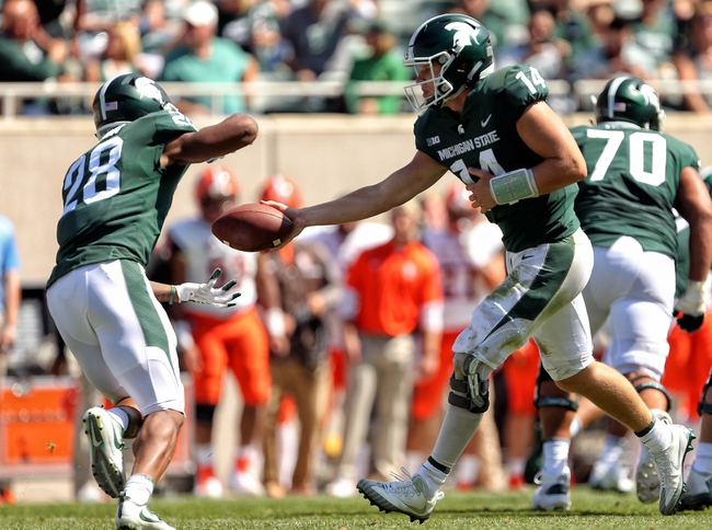 Michigan State vs. Western Michigan - 9/9/17 College Football Pick, Odds, and Prediction