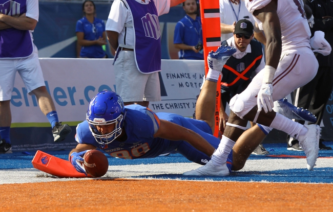Troy vs. Boise State - 9/1/18 College Football Pick, Odds, and Prediction