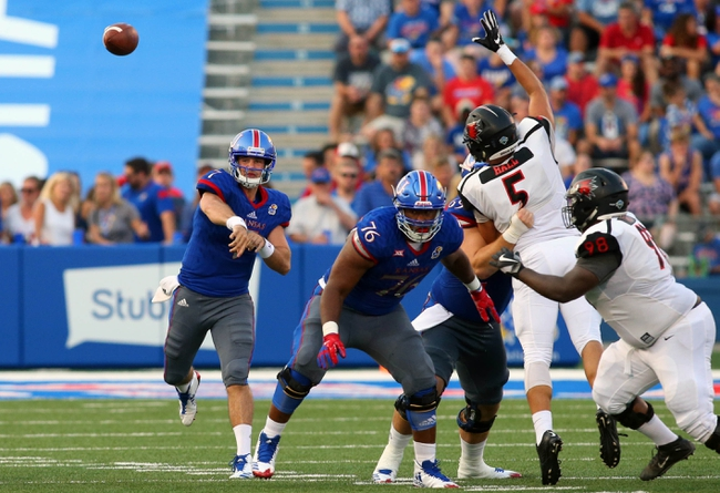 Kansas vs. Central Michigan - 9/9/17 College Football Pick, Odds, and Prediction