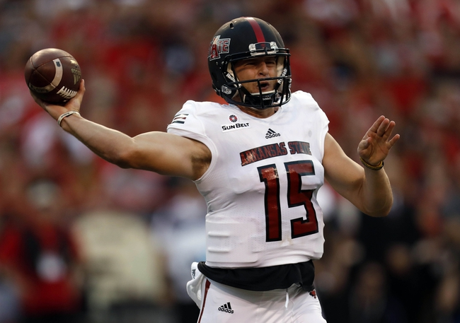 Arkansas State vs. Troy - 12/2/17 College Football Pick, Odds, and Prediction