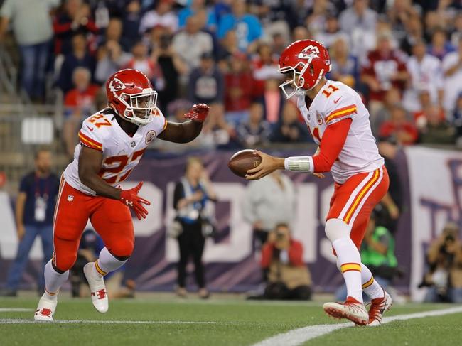 Philadelphia Eagles at Kansas City Chiefs - 9/17/17 NFL Pick, Odds, and Prediction