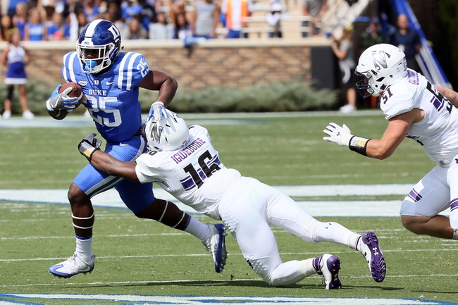 Northwestern vs. Duke - 9/8/18 College Football Pick, Odds, and Prediction
