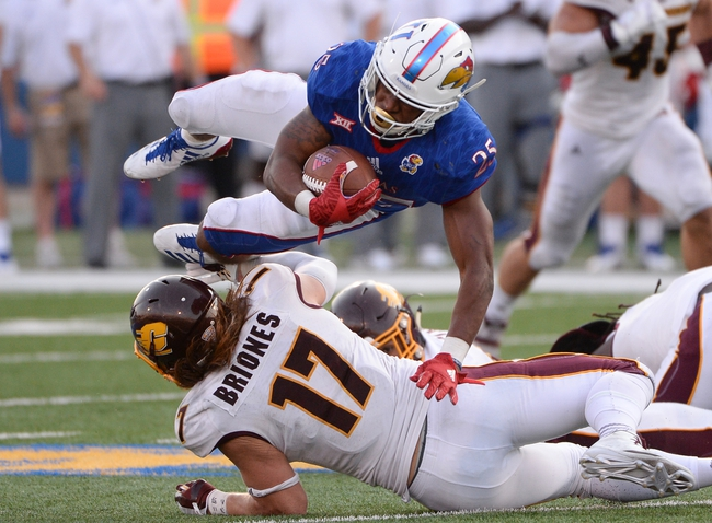 Central Michigan vs. Kansas - 9/8/18 College Football Pick, Odds, and Prediction