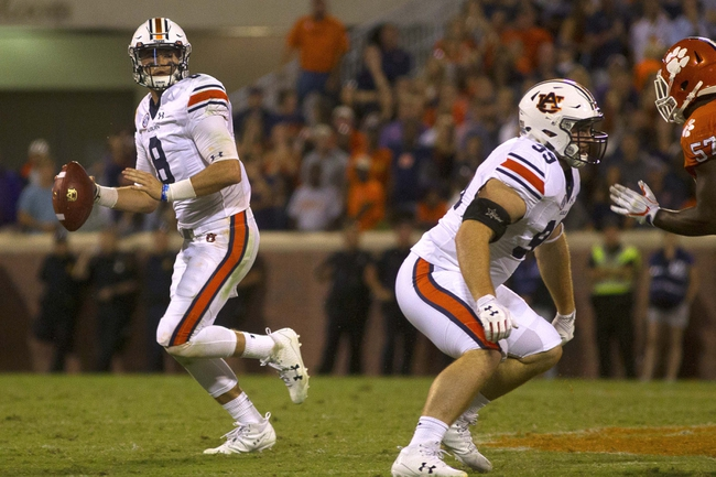 Mississippi State at Auburn - 9/30/17 College Football Pick, Odds, and Prediction