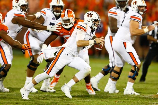 Auburn vs. Mercer - 9/16/17 College Football Pick, Odds, and Prediction