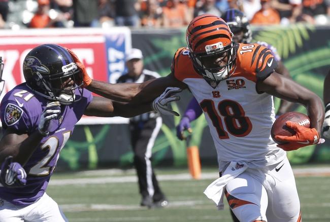 Baltimore Ravens vs. Cincinnati Bengals - 12/31/17 NFL Pick, Odds, and Prediction