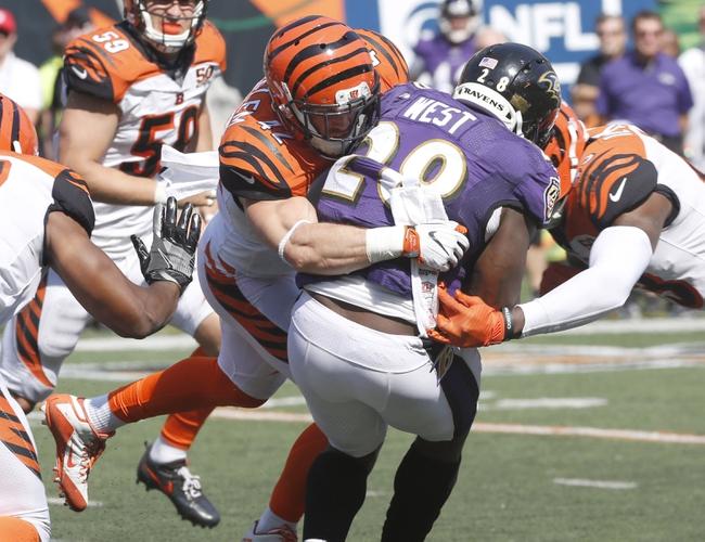Cincinnati Bengals at Baltimore Ravens - 12/31/17 NFL Pick, Odds, and Prediction